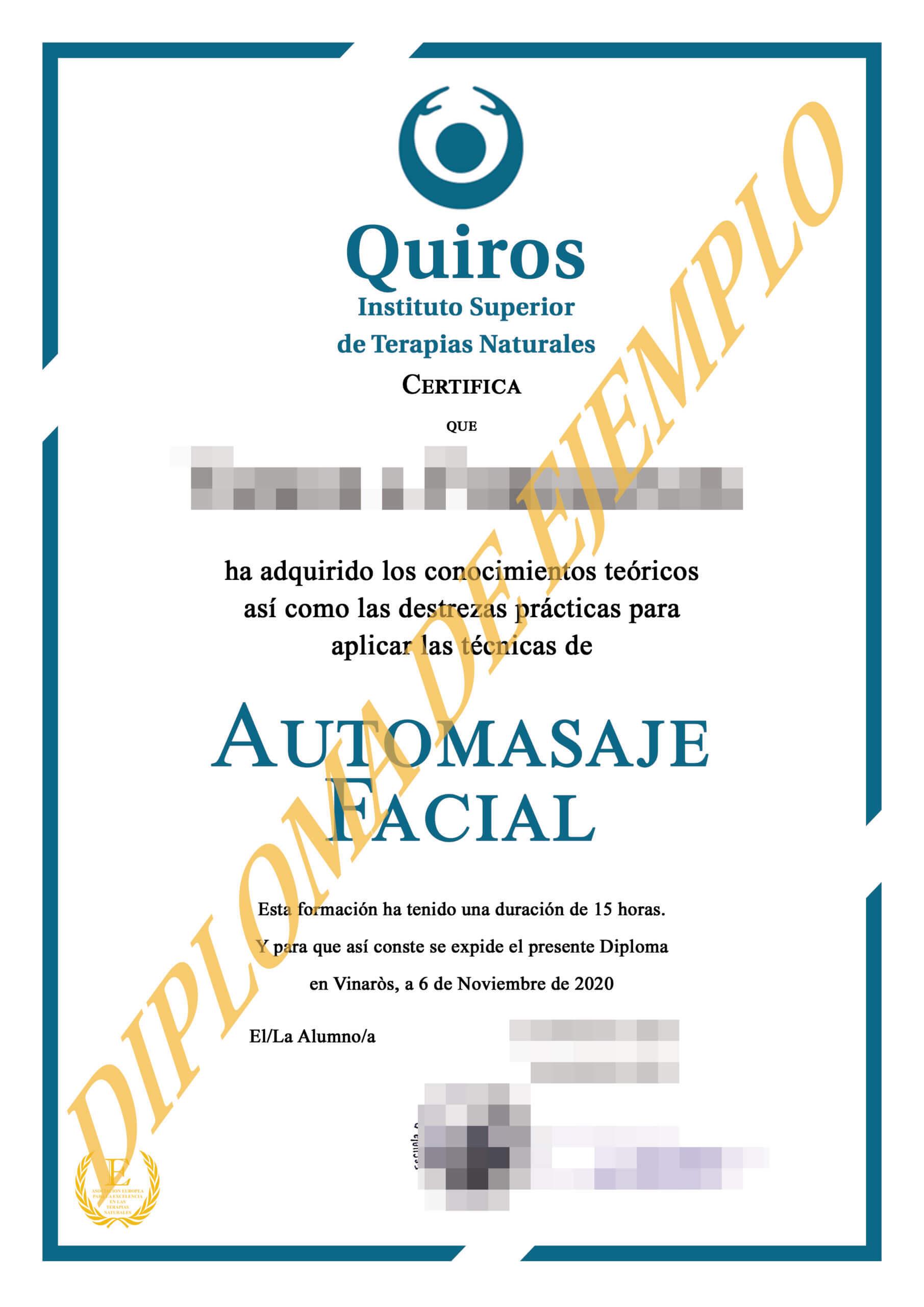 CURSO DE AUTOMASAJE FACIAL MASAJE CARA
