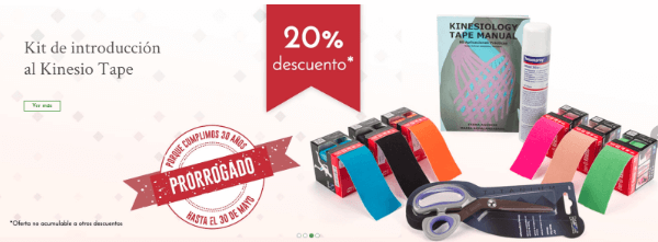 Kit de Introduccion al Kinesiotape